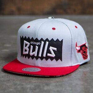 4ebbfae93131f2 BAIT x NBA x Mitchell And Ness Chicago Bulls STA3 Wool Snapback Cap ...