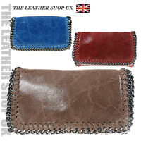 Fashion UK Stylish Colourful Real Leather Ladies Party Style Clutch Handbag F032