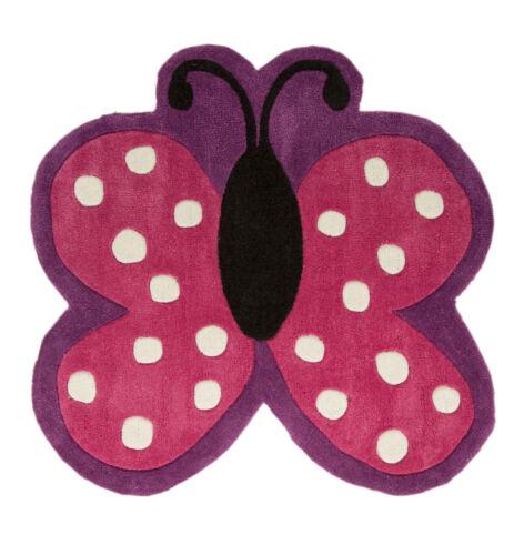 90 x 90 cm Kiddy Play Polka Butterfly Multi
