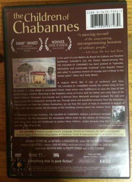 The Children of Chabannes (DVD, 2005)