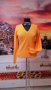Lezard Oranje 100 Rene Damen dames Gr Kaschmir s Pullover m sweater PqxHFU
