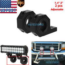 "Mounting bracket light clamp bar roof roll cage 1.5"" 2"" tube 4x4 offroad utv led"