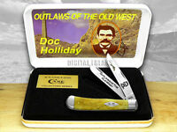 Case Xx Doc Holiday 1/500 Antique Trapper Pocket Knife on sale