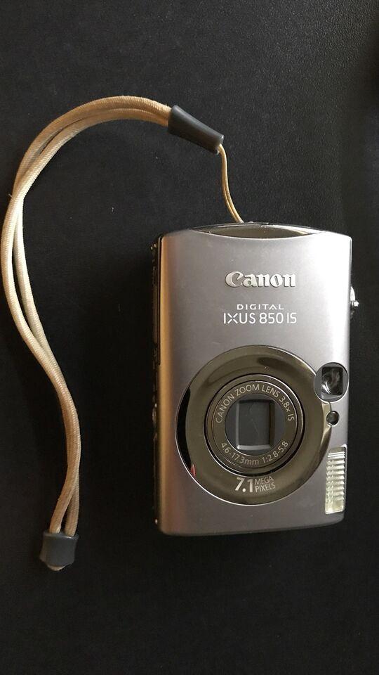 Canon, IXUS 85015, 7.1 megapixels