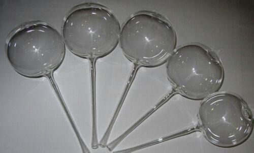 5er Set Bewässerungskugeln Ø 9 cm Durstkugeln mundgeblasenem Lauscha Glas