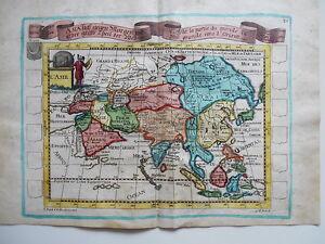 Ca E Baeck 1710 FöRderung Der Produktion Von KöRperflüSsigkeit Und Speichel - Asien Altkolor Karte
