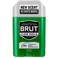 BRUT Clear Shield Deodorant 2.25 oz (Pack of 3)