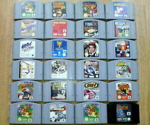 JUEGOS NINTENDO 64 PAL, MARIO, POKEMON, ZELDA, CARTUCHOS N64. ELIGE EL TUYO.