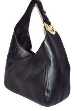 Michael Kors Fulton Large Slouchy Shoulder Bag, Black, NWT $328