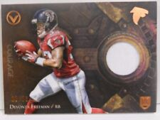 2014 Topps Valor Devonta Freeman SP Courage Patch Rookie Jersey Relic # 5 / 50