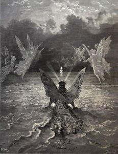 Gustave Doré Anciens Marins 1876 Xix ème Marine Marin Le Vent Dans Les Voiles
