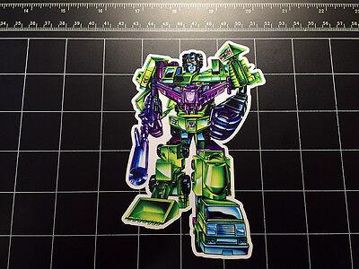 Skyfire box art vinyl decal sticker Autobot toy 1980/'s Transformers G1 Jetfire