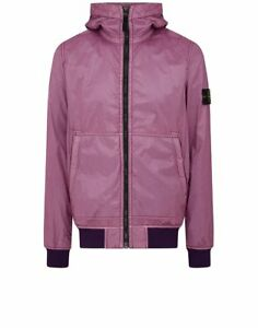 Flock Purple Lamy Jacket 44435 Stone Island Hooded In xTaq7BwX
