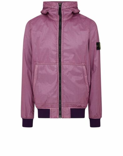 Flock Purple Lamy Jacket 44435 Stone Island Hooded In xTaq7BwX