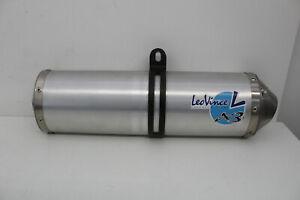 LeoVince-x3-Exhaust-Endschalldaempfer-Auspuff-Schelle-Uni-Motorrad-ohne-eNummer