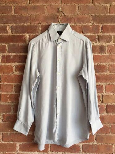 Vintage Dunhill Men's Shirt, 100% Silk, Italy 15/3