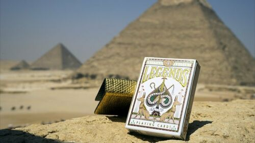 Red by Expert Playing Cards Poker Spielkarten Egyptian Legends Playing Cards