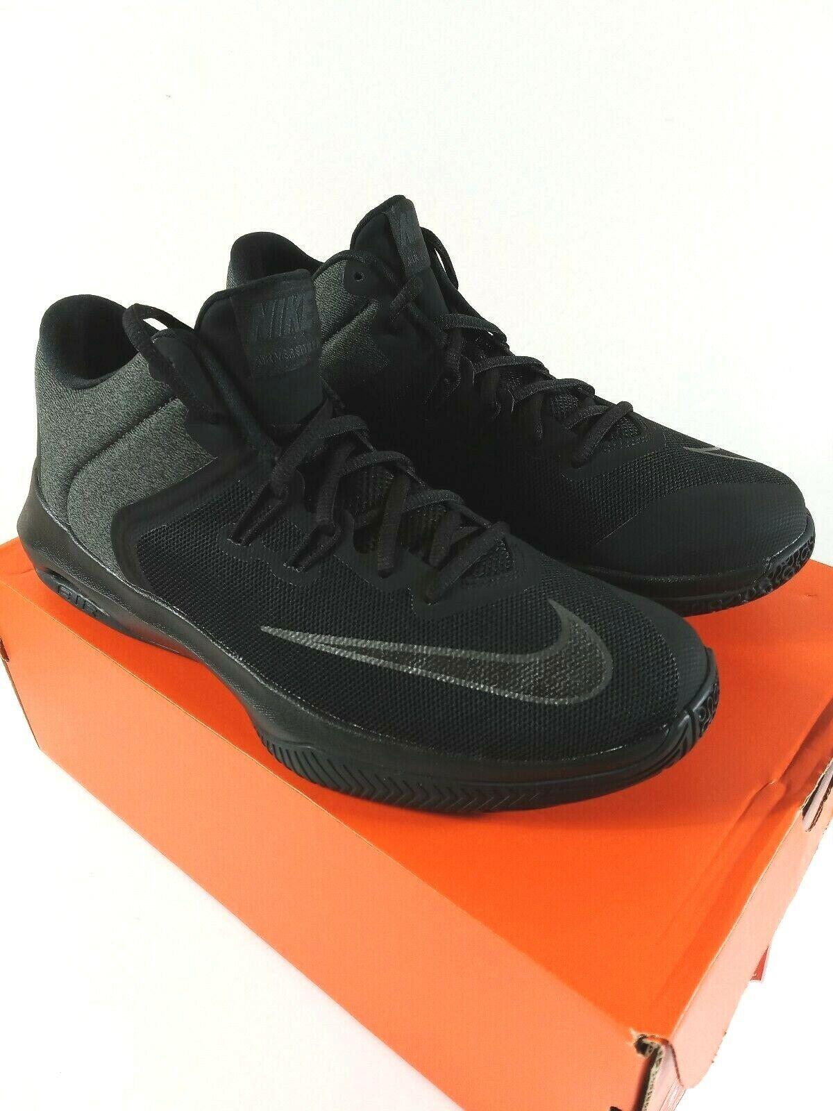 NIKE AIR VERSITILE II NBK Basketball shoes Mens Size 9 BLACK AA3819-002