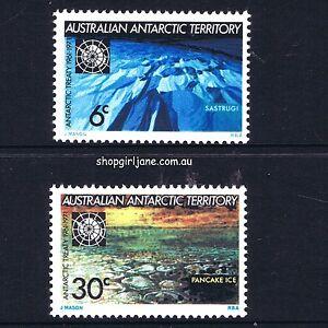 1971-Australia-Australian-Antarctic-Territory-AAT-10th-Annivesary-set-of-2