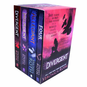 Divergent-And-Insurgent-By-Veronica-Roth-4-Books-Collection-Set