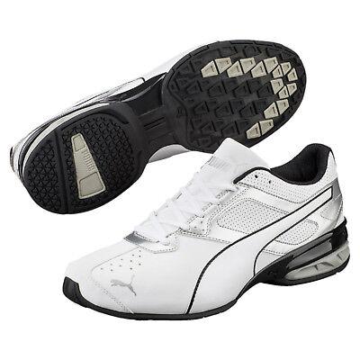 46 95€ Puma Schuhe Schwarz 47 Silver Weiss 44 Herren 59 42