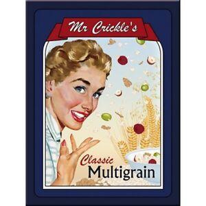Magnet 14194 - Mr Crickles Multigrain - 8 X 6 cm - Neu