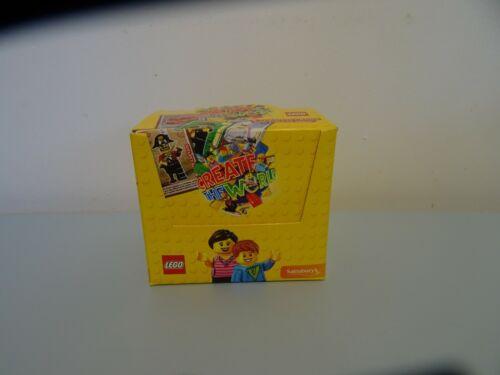1x Brand New Box LEGO Sainsbury/'s Create the World 300 Cards Boxed Season 1 2017