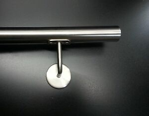 BANDTILEEdelstahl Handlauf Geländer 1,2 Meter Rohr 42,4mm Ø V2A TOP