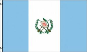 84d410669de Details about 3 x5  Guatemala Flag Guatemalan Outdoor Banner Central  America Coat Of Arms 3x5