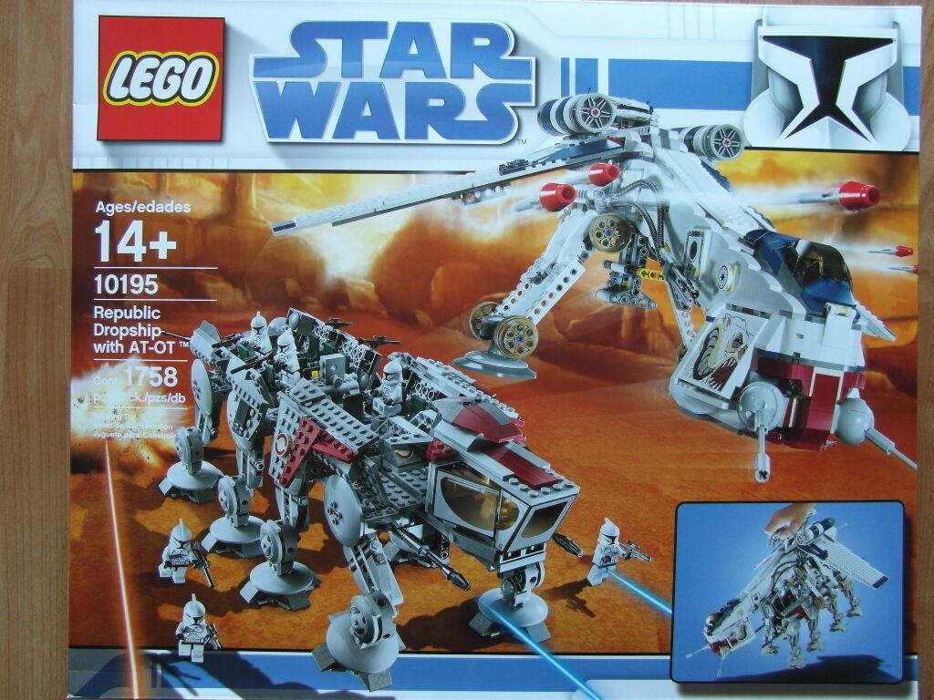 Lego Star Wars 10195 Republic Dropship OVP Nuevo Nuevo Nuevo