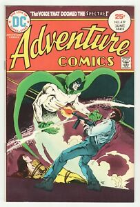 Adventure-Comics-439-DC-1975-The-Spectre-amp-Green-Arrow-Jim-Aparo-Cover-Art