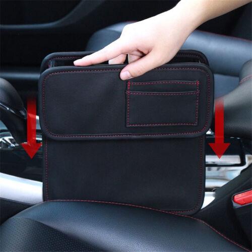 Auto Sitzstaufach Sitztruhe Aufbewahrung Ablagefach Box Handy Tasche Halterung