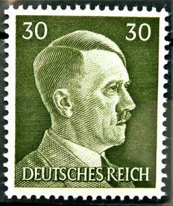WW2 REAL NAZI 3rd REICH ERA GERMAN STAMP ADOLF HITLER REICHSKANZLER 30rf MNH