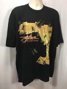 Miskeen-Originals-2XL-Bumble-Bee-Hive-Honey-Artist-Tee-T-Shirt-Metallic-Jewelled