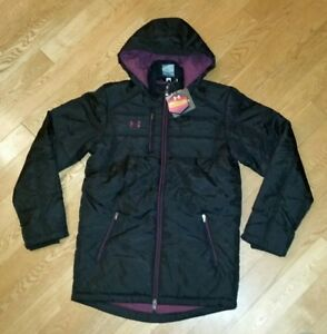 48c3b523f Image is loading Under-Armour-UA-Storm-ColdGear-Infrared-Hooded-Jacket-