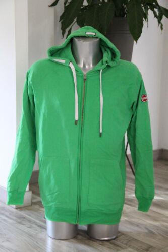 Pretty Vest Zipped Hoody Hoodies Green 100% Cotton