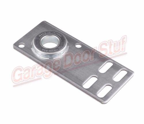 """6-5//8/"""" Garage Door End Bearing Plates 1 Pair"""