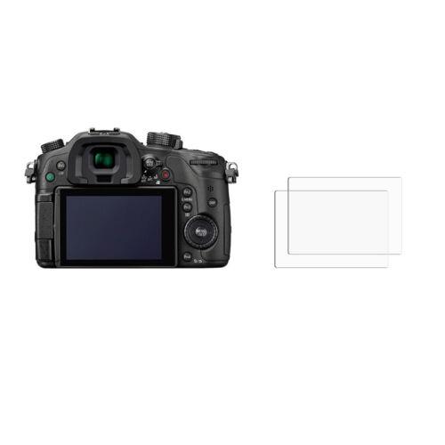 2 Ultra claro anti-rayadura protectores de pantalla cubierta para Panasonic Lumix DMC-GH4R