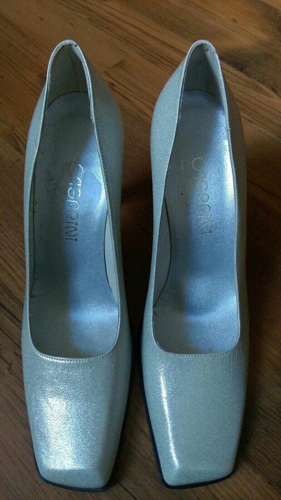 CASPRINI Class Bridal Patent Leather Shoes Size 39.1/2 NEW