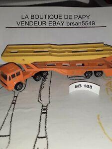 SB-188-MAJORETTE-DOUBLE-FRANCE-MERCEDES-FRANCE-PORTE-VOITURE-ech-1-100