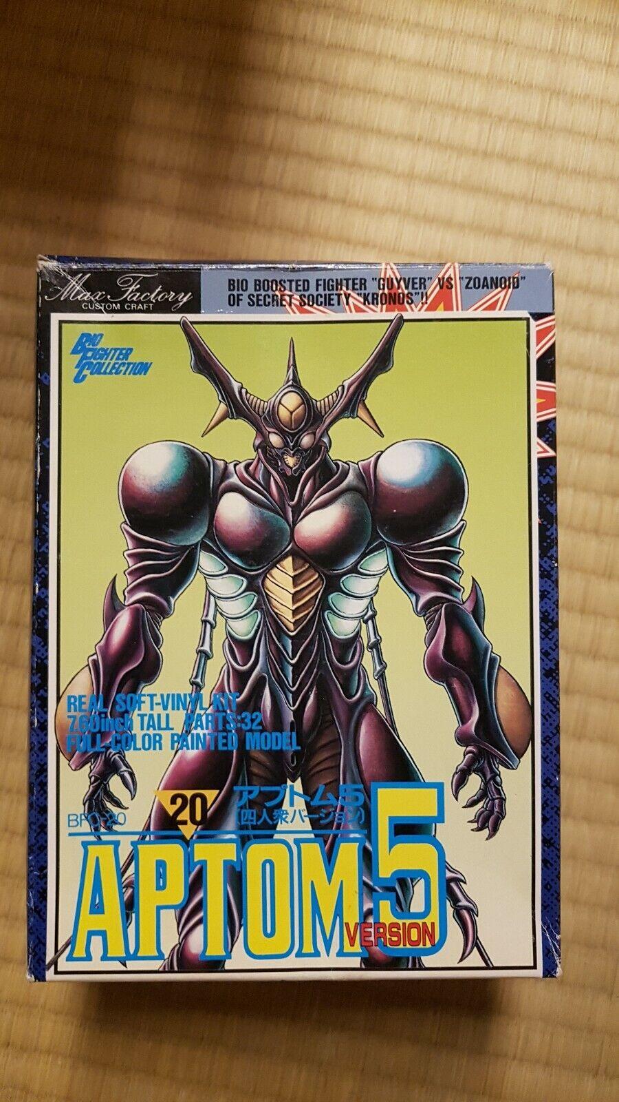 Guyver Guyver Guyver rare aptom 5 kit original max factory painted 3cf3f1