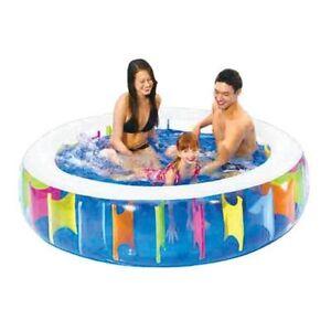 Jardin géant gonflable d'amusement de famille d'amusement de piscine de piscine géante gonflable extérieur grand 5060320309905