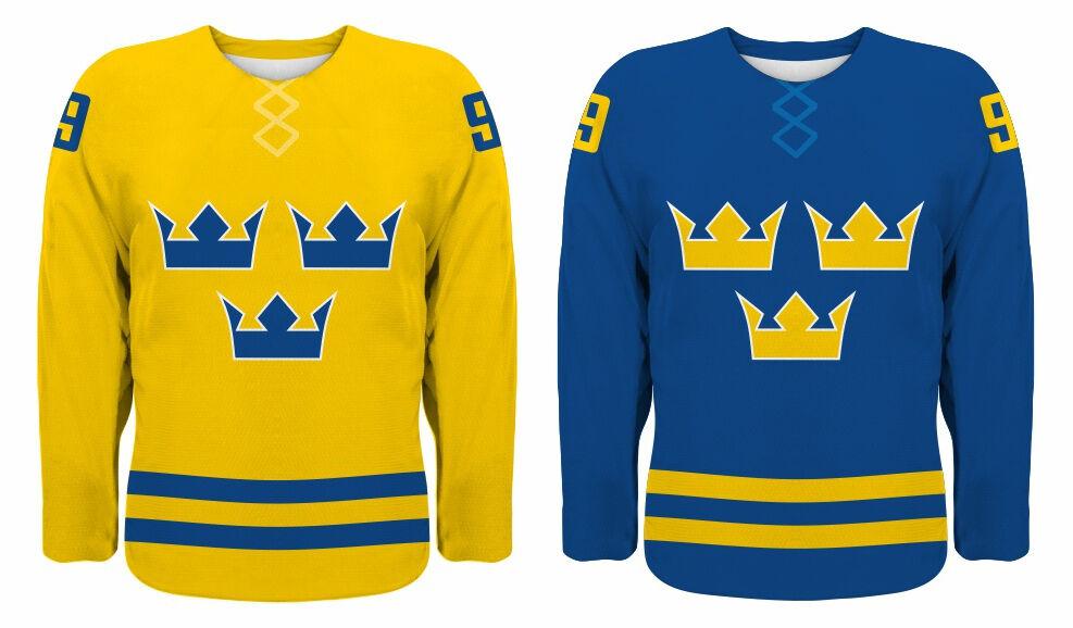 Sports Mem, Cards & Fan Shop Beautiful Hv71 Shl Jönköping Sweden Professional Hockey Blue T-shirt New Swedish Tee Men
