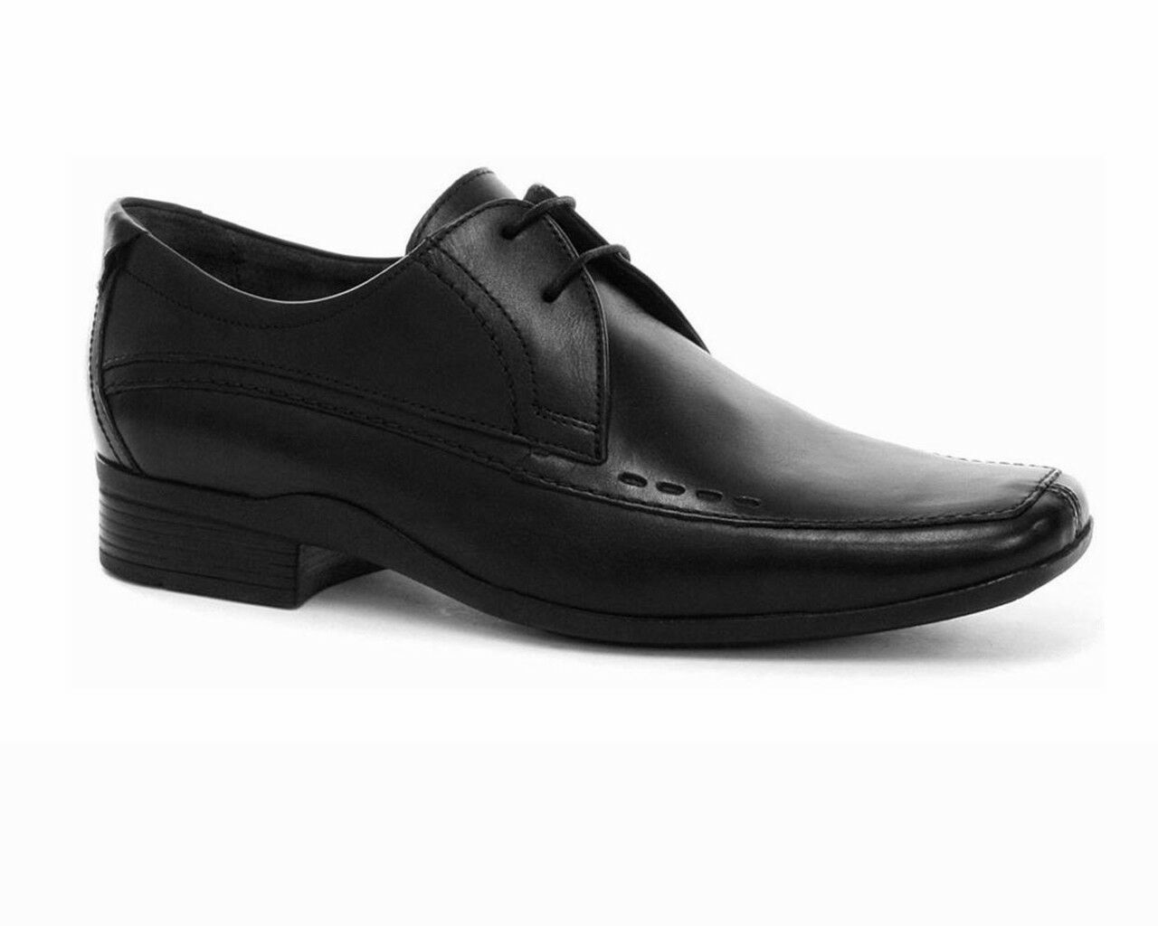 Base London BOMB Formal Lace Up Leather Mens shoes Black