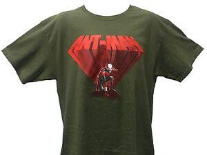 Marvel comics ant man superhero logo vintage retro men 39 s t for Retro superhero t shirts