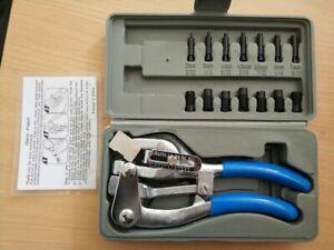 Hand Tool Set HEAVY DUTY Punch Kit New Power Holer Punch Kit Sheet Metalr