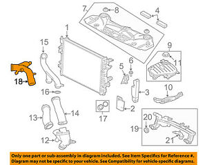 image is loading jaguar-oem-13-15-xf-radiator-water-outlet-