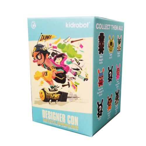 Kidrobot Designer Con Dunny Mini Series Blind Box Figure 4 Blind Boxes NEW