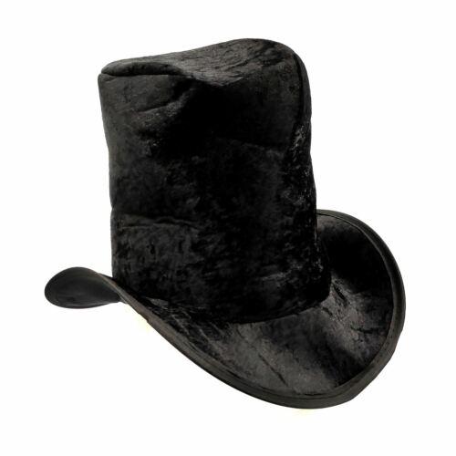 Boy Childs Top Hat Black Velour Victorian Artful Dodger Willy Book Fancy Kids