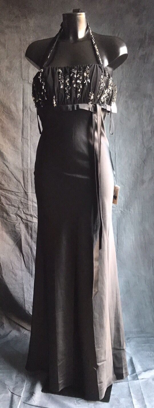 Parti de bal soirée robe de cocktail par Landmark Noir   Taille 6
